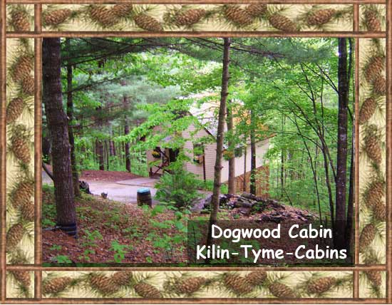 The Dogwood Cabin at Kilin Tyme Cabins